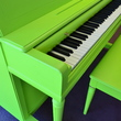 1951 Lime Green Wurlitzer Studio Piano - Upright - Studio Pianos