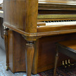 1942 Kimball burled walnut console - Upright - Console Pianos