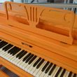 1969 Orange Conover Spinet Piano - Upright - Spinet Pianos