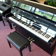 Yamaha B1 Continental Console Piano with Silent Series - Upright - Console Pianos