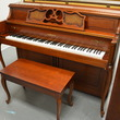 1989 Yamaha M405 Console Piano - Upright - Console Pianos