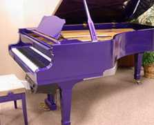 PURPLE PLAYER GRAND PIANO!