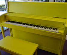 Sunshine Yellow Story & Clark Studio Piano