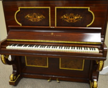 One-of-a-kind Steinway Upright