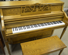Charles R. Walter Console Piano