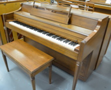 Janssen Spinet Piano