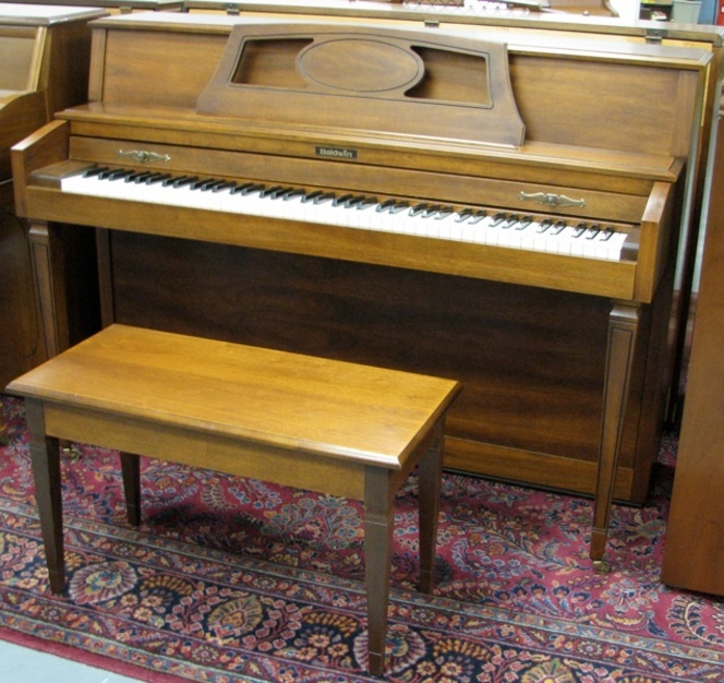 1980 Baldwin Console/Spinet hybrid - Upright - Spinet Pianos