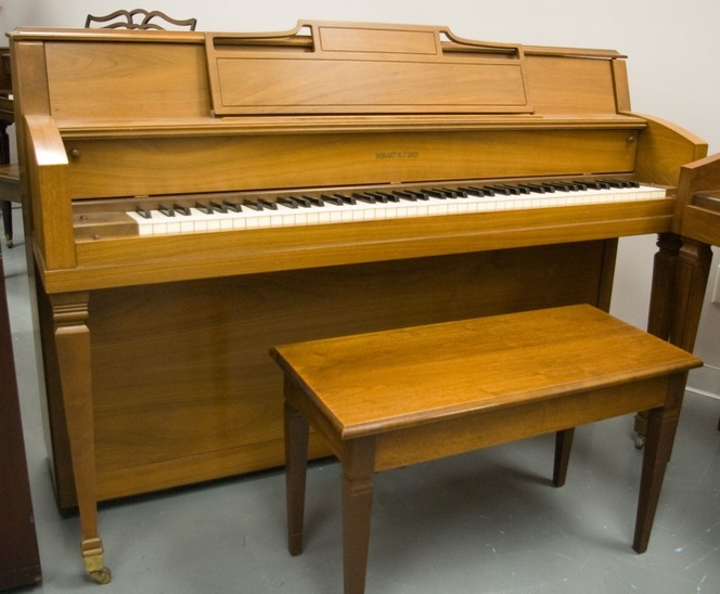 1964 Hobart M. Cable Console Piano - Upright - Console Pianos