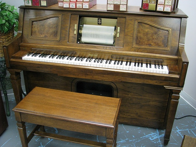 1981 Duo/Art Player Studio Piano - Upright - Console Pianos