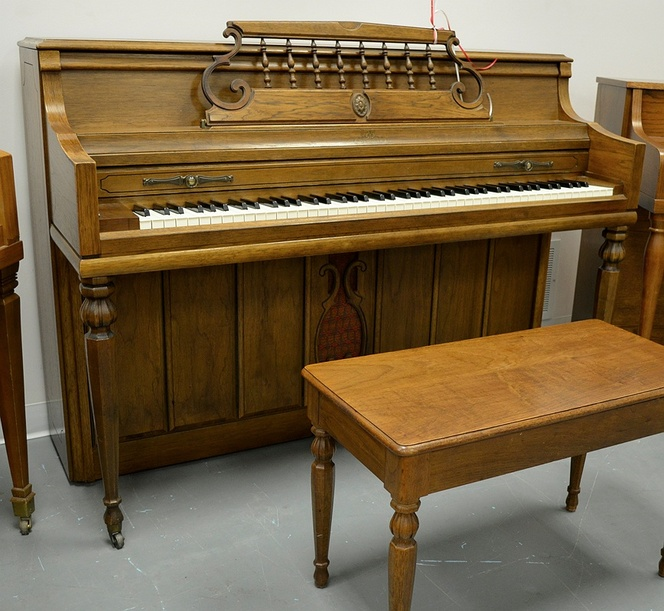 1969 Ornate Wurlitzer Console - Upright - Console Pianos