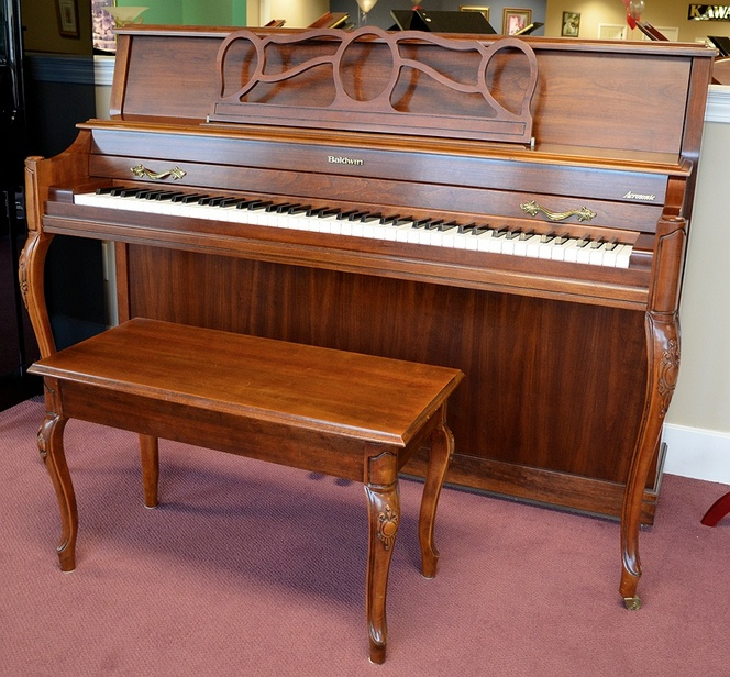 1990 Baldwin Acrosonic Console - Upright - Console Pianos