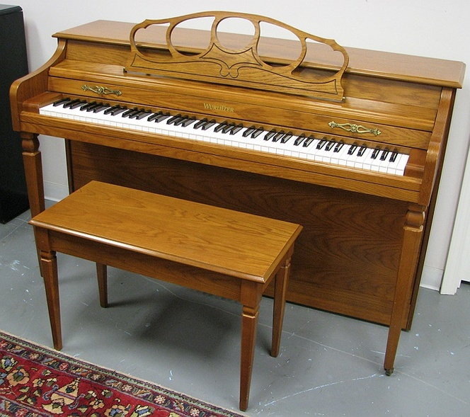 1997 wurlitzer 1175a spinet piano upright dimensions for What are the dimensions of an upright piano
