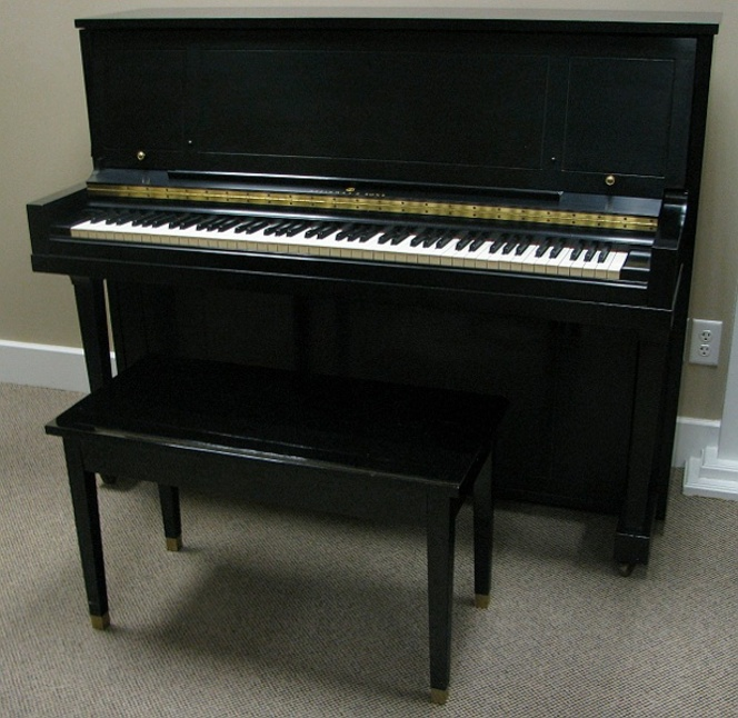 1971 Steinway Studio Upright - Upright - Professional Pianos
