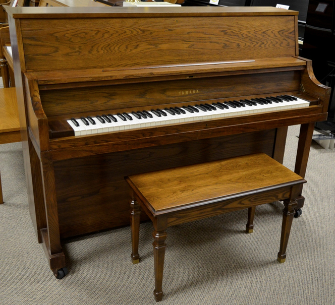 1973 Yamaha P22 Studio - Upright - Studio Pianos