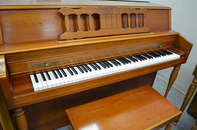1987 Yamaha M306 Console Piano - Upright - Console Pianos