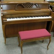 1972 Kimball Cherry French Provincial Console - Upright - Console Pianos