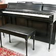 Wurlitzer Ebony Spinet - Upright - Spinet Pianos