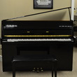 1992 Yamaha M1E contemporary console - Upright - Console Pianos