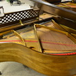 1975 Kimball baby grand in pecan - Grand Pianos