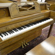 Poole console, distressed pecan - Upright - Console Pianos