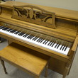 1987 Wurlitzer Console Piano - Upright - Console Pianos