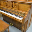 1992 Kimball Concerto console, pecan - Upright - Console Pianos