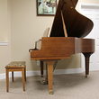 1977 Yamaha GH1 baby grand, walnut - Grand Pianos