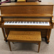 1991 Yamaha P22 studio piano, dark oak - Upright - Studio Pianos