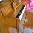 1981 Everett console, pecan. Excellent condition! - Upright - Console Pianos