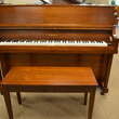 Walnut Yamaha studio piano - Upright - Studio Pianos