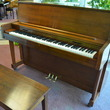 1989 Charles R Walter studio, walnut - Upright - Studio Pianos