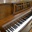 1985 Yamaha M302 console piano, dark oak - Upright - Console Pianos