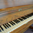 1980 Yamaha P202 studio piano, oak - Upright - Studio Pianos