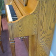 1990 Charles R Walter oak console - Upright - Console Pianos