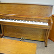 1989 Charles R Walter studio, oak - Upright - Studio Pianos