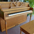 1992 Story & Clark oak console piano (sorry, plant not included) - Upright - Console Pianos