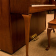 1998 Queen Anne Yamaha console, cherry - Upright - Console Pianos