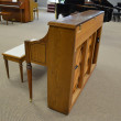 1989 oak Samick SU-243M console piano - Upright - Console Pianos