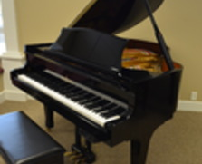Story & Clark player grand piano