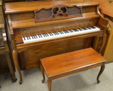 French Provincial Yamaha Console Piano