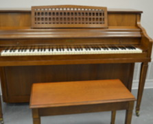 Harwood Console Piano