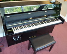 Yamaha B1 Continental Console Piano with Silent Series