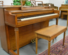 Sharp looking Gulbransen Spinet in walnut!
