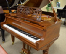 "Fancy Sohmer 5'4"" grand piano"