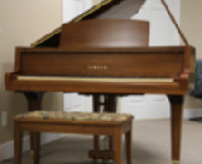 Yamaha GH1 baby grand, walnut