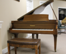 Schumann baby grand piano