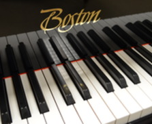 Boston baby grand with PianoDisc iQ player system