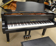 Yamaha C3 grand, SATIN EBONY