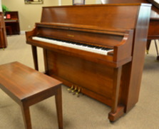 Walnut Yamaha studio piano