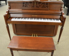 Charles R Walter cherry console